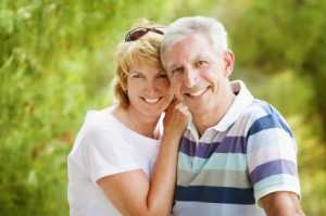 Seniors after Dental implants